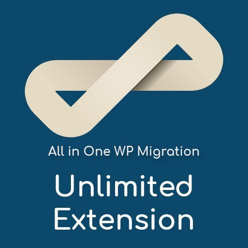 Plugin Unlimited Extension elimina el límite de 512 MB de All in One WP Migration