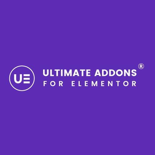 Plugin Ultimate Addons for Elementor que aumenta la potencia de elementor con su biblioteca de widgets