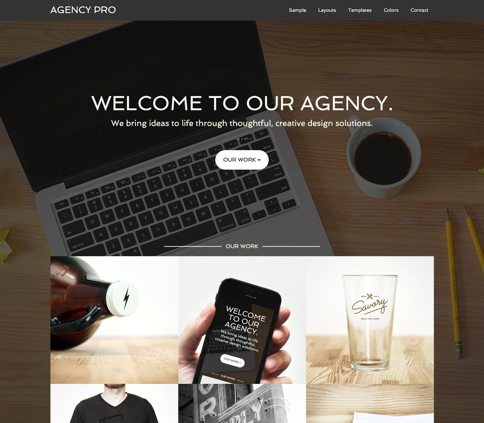 Agency Pro - Un tema para Genesis Framework