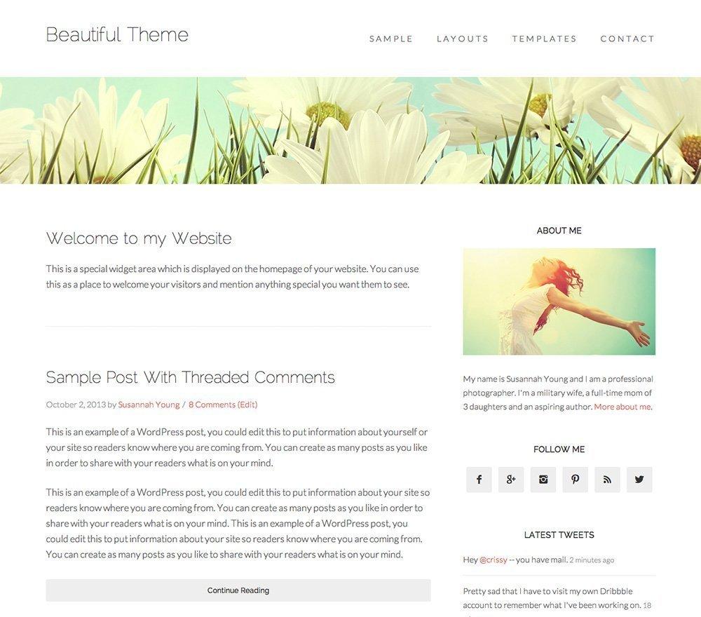 Beautiful Pro - Un tema para Genesis Framework