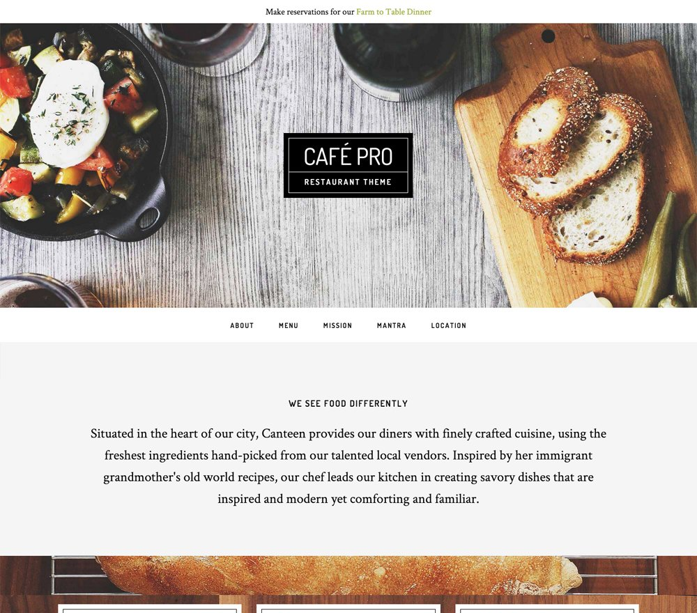 Café Pro - Un tema para Genesis Framework
