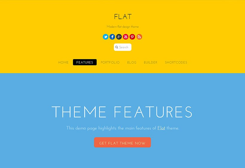 tema-flat-theme