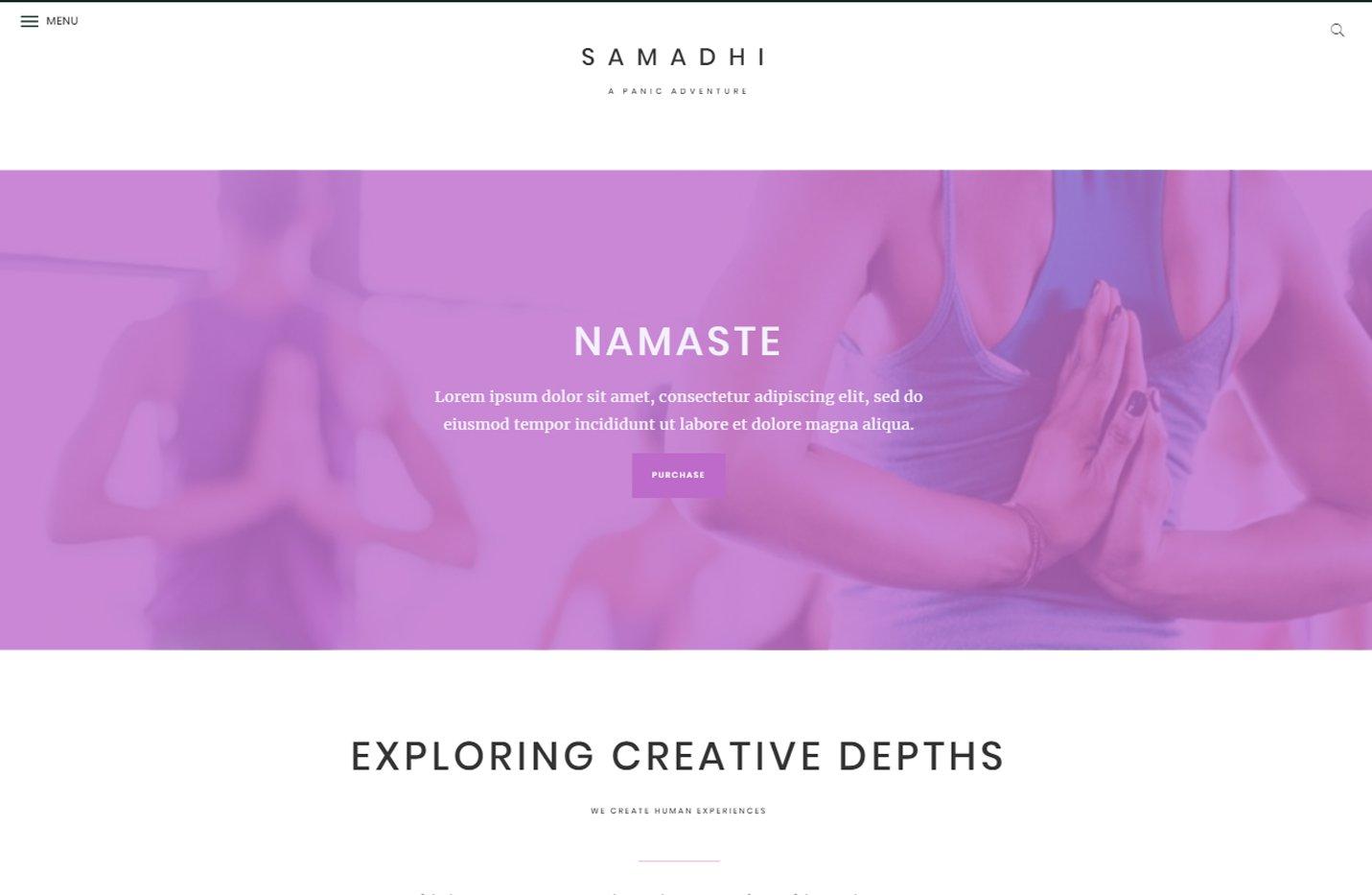 Samadhi - Un tema para Genesis Framework y preparado para WooCommerce