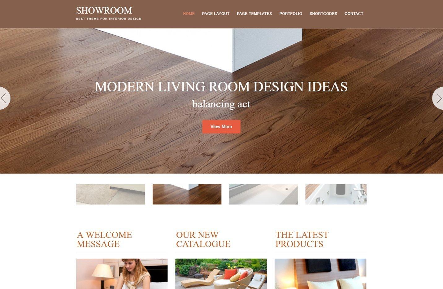 Showroom - Un tema para Genesis Framework multipropósito
