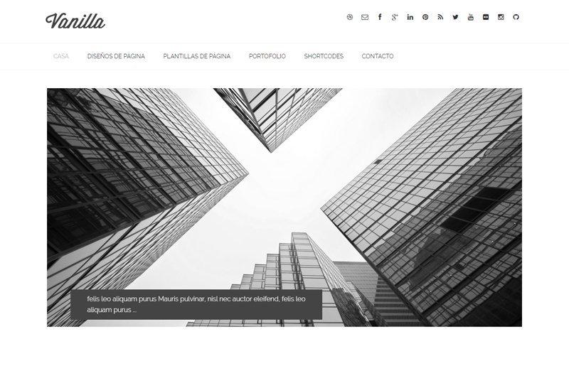 Vanilla - Un tema para Genesis Framework con un diseño minimalista
