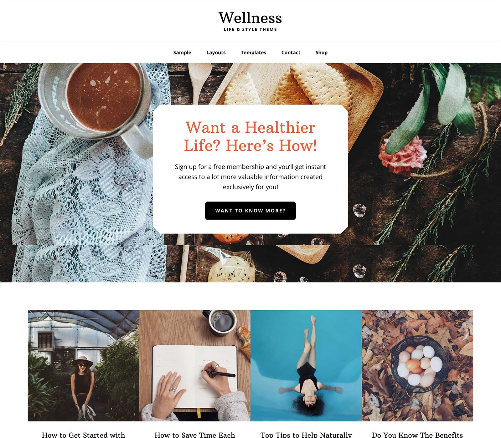 Wellness Pro - Un tema para Genesis Framework y preparado para WooCommerce