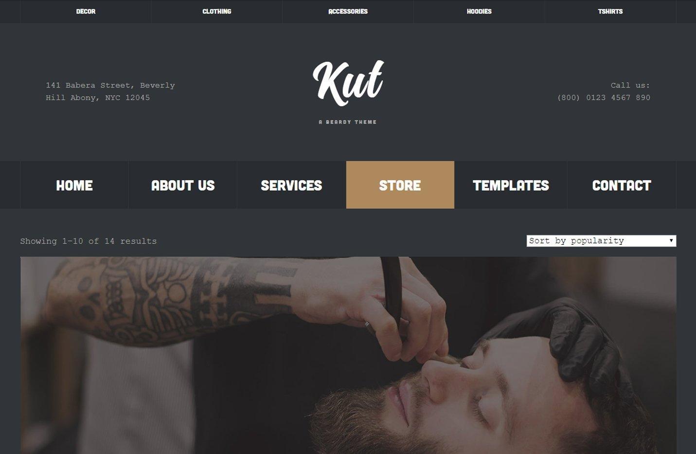 Kut - Un tema para Genesis Framework y preparado para WooCommerce