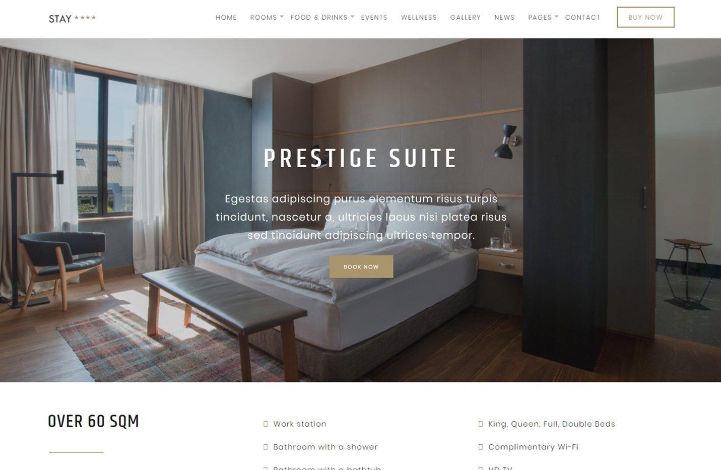 Stay - Un tema para Genesis Framework perfecto para alojamientos turísticos